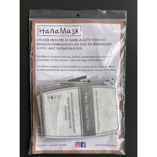 Filtres pour masque hygiénique réutilisable